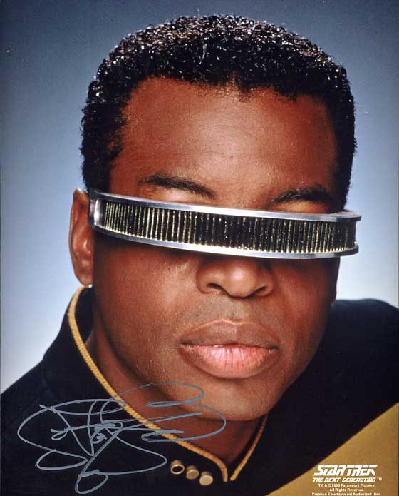 Geordi loves Star Trek XI